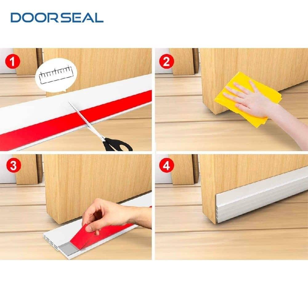 Cách sử dụng ron cửa gỗ Doorseal