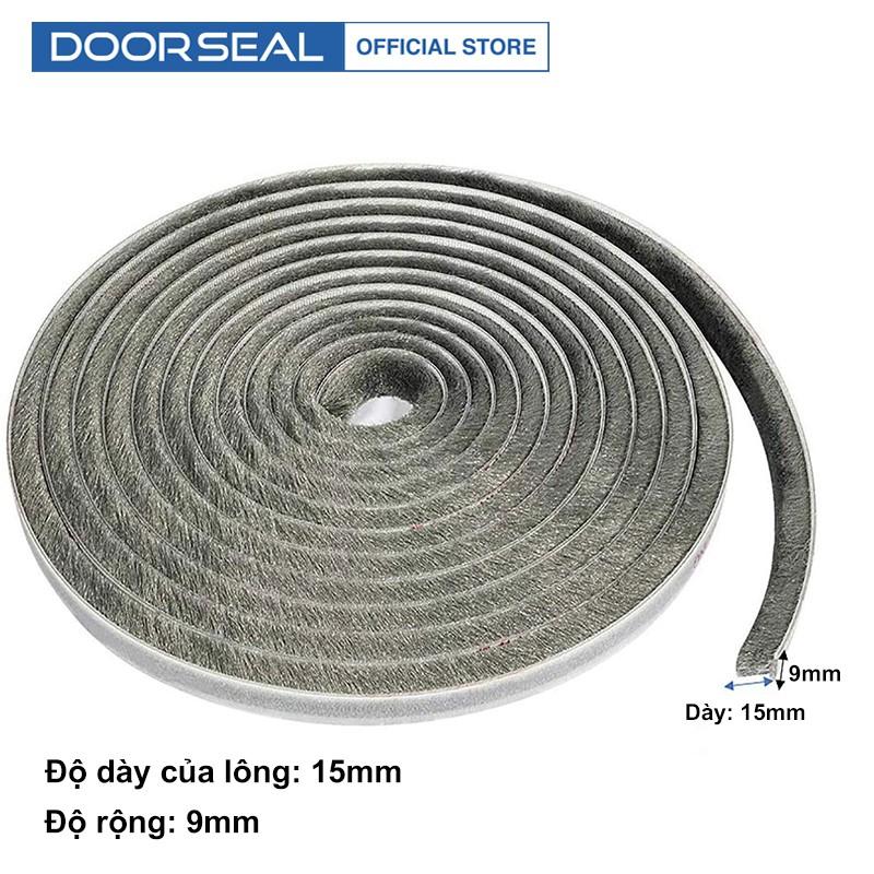 Ron lông nheo dán khung cửa gỗ Doorseal