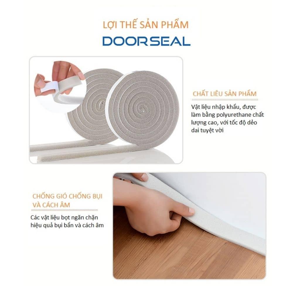 Điểm nổi bật của xốp dán khe cửa tại Doorseal